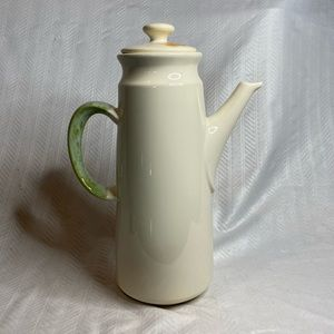 Vtg (1971-77) Franciscan teapot flower pattern lid